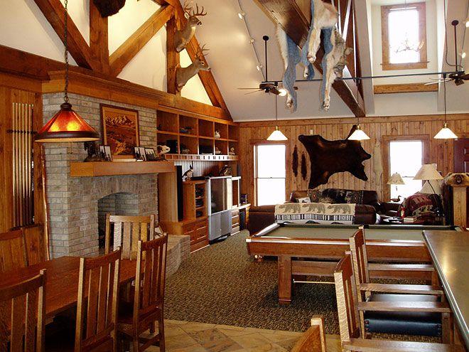 The living room in a kodiak steel homes crestwood model for Metal homes interior