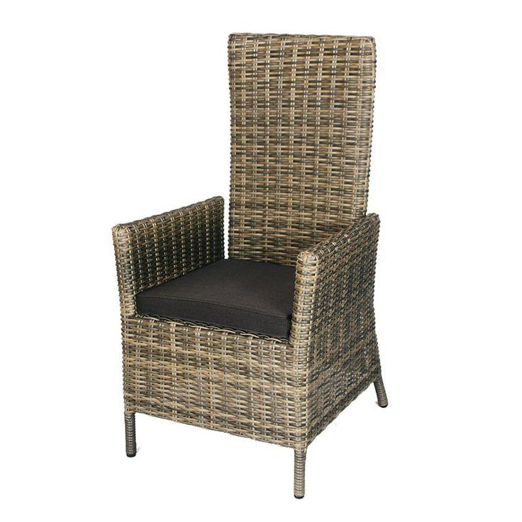 De verstelbare tuinstoel Saar is een zeer comfortabele stoel. De stoel is geheel verstelbaar dankzij de gasdrukveer. Ook het type wicker dat is gebruikt maakt dat deze stoel zeer onderhoudsvriendelijk is. #Tuinstoel #Tuinstoelen #tuinmeubelen #tuinmeubel #tuinmeubels