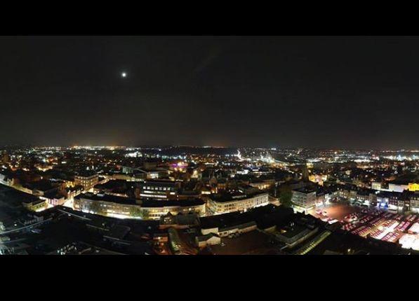 Night time in Northampton
