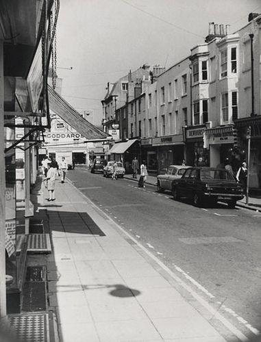 Gardner Street, North Laine, Brighton, 25 August 1971