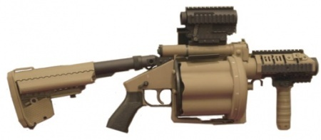 M32A1 Grenade Launcher... not for the common civie.... but I can dream right? :p