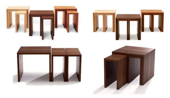 More Nesting Tables Contemporary Modular Furniture Design