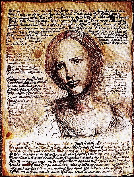 "Alias - Rambaldi Manuscript - ""The Prophecy"" (Pg. 47) featuring Sydney Bristow"