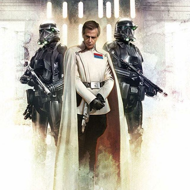 Star Wars: Rogue One - Director Krennic and Death Troopers