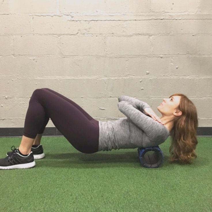 How to use a foam roller after CrossFit or weight lifting