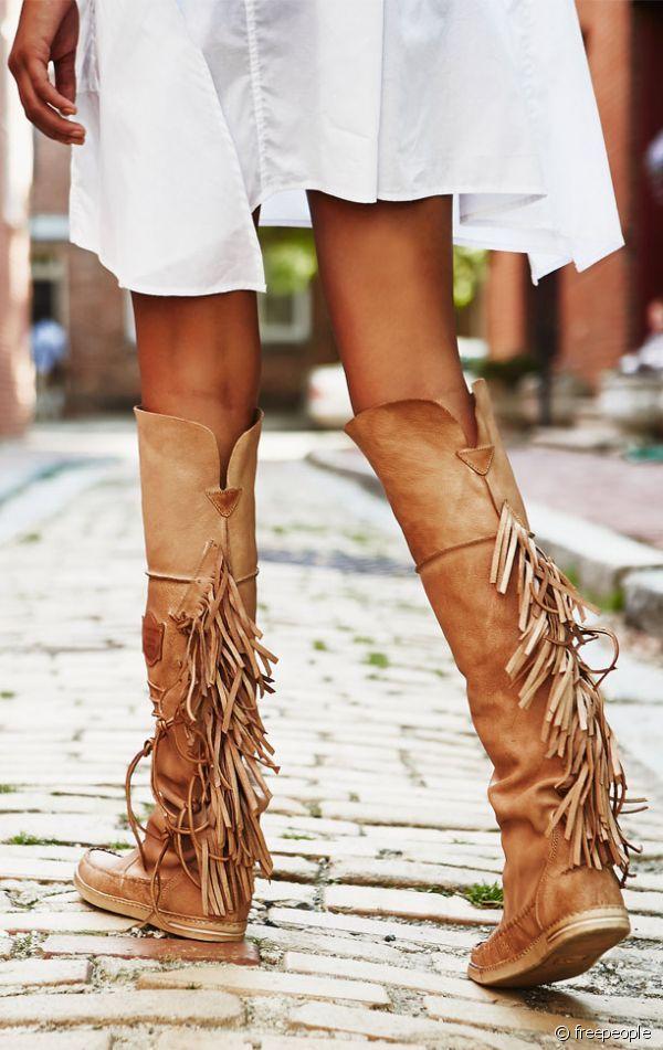 Franges automne Bottes A Franges, Sandales, Cuissardes, Chaussure Mode, Chaussures  Femme, 6afceaae8e30