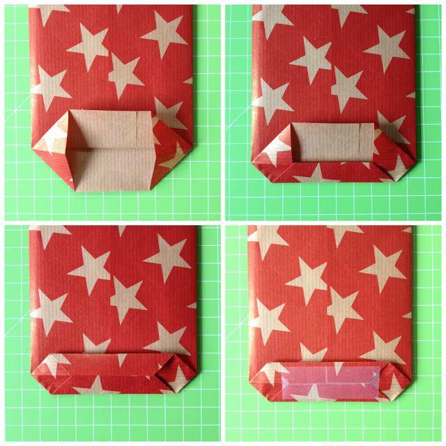 Mädchenkram | Anleitung für Papiertüten mit Boden