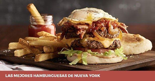 Las 5 Mejores Hamburguesas En Nueva York La 5th Con Bleecker St Hamburguesas Mejores Hamburguesas Tipos De Hamburguesas