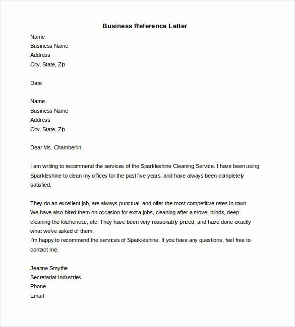 Professional Reference Letter Template Word from i.pinimg.com
