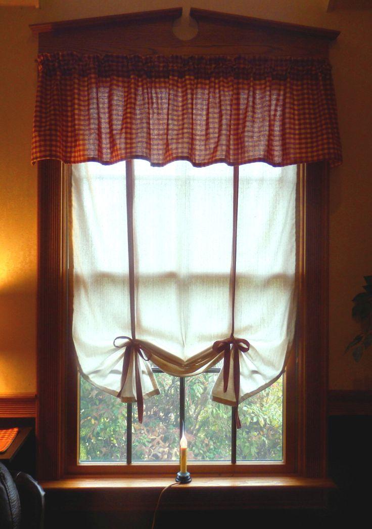 Best 25 Tie Up Curtains Ideas On Pinterest Diy Window Shades Kitchen Window Dressing And No