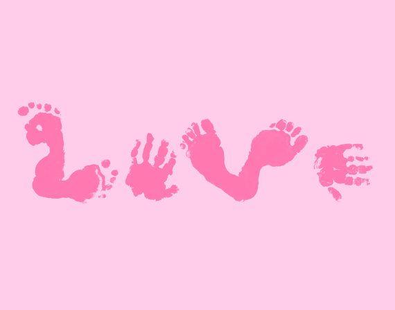 Footprint Love. Love this.