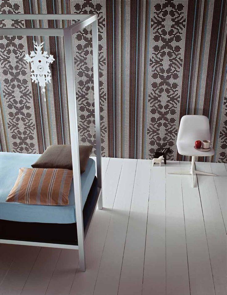 #Bisazza #Decorations Opus Romano Wallpaper Grey | Feinsteinzeug | im Angebot auf #bad39.de 157 Euro/Pckg. | #Mosaik #Bad #Küche