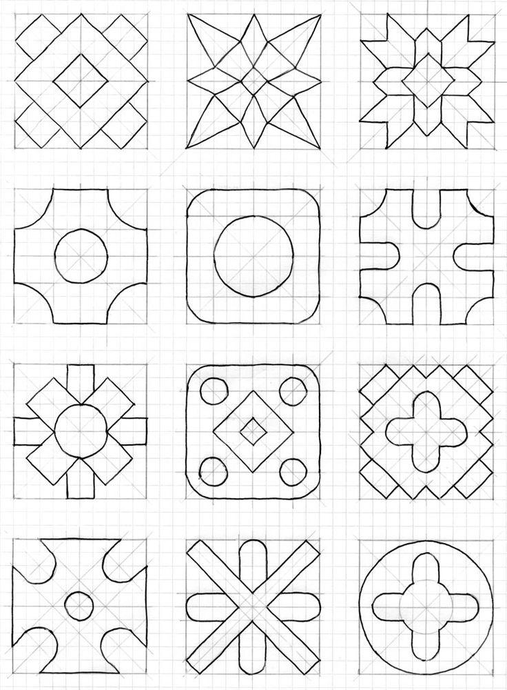M s de 25 ideas incre bles sobre cuaderno cuadriculado en for Cenefas para dibujar