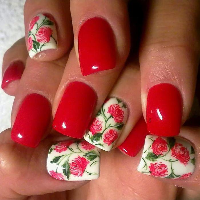 Tante rose rosse per le vostre unghie da abbinare ad un lucente e cremoso rossetto rosso.https://www.facebook.com/photo.php?fbid=10152176276248387&set=pb.278789638386.-2207520000.1397140906.&type=3&theater