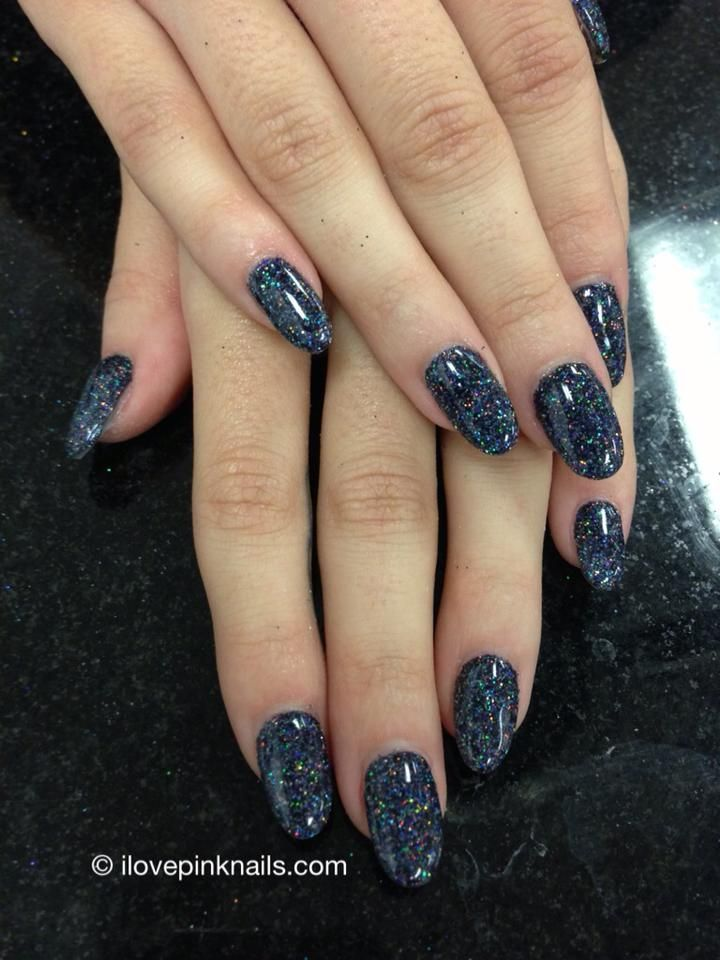 Gun Metal Rock Star Nails