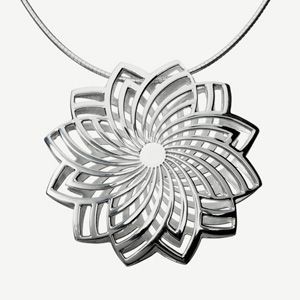 Finnish design, by Lumoava. The Pioni necklace.