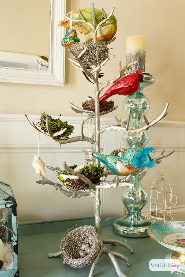 Winter Centerpiece With A Secret : Best ideas about foyer decorating on pinterest hall
