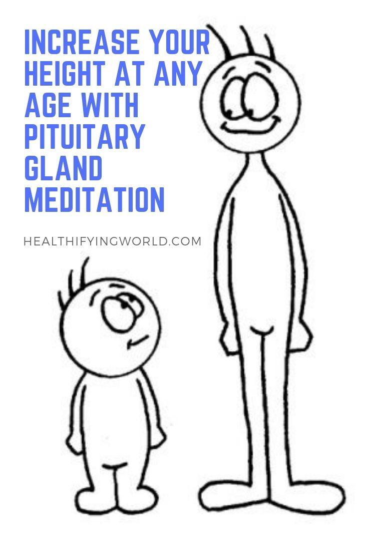 Increase Your Height At Any Age With Pituitary Gland Meditation
