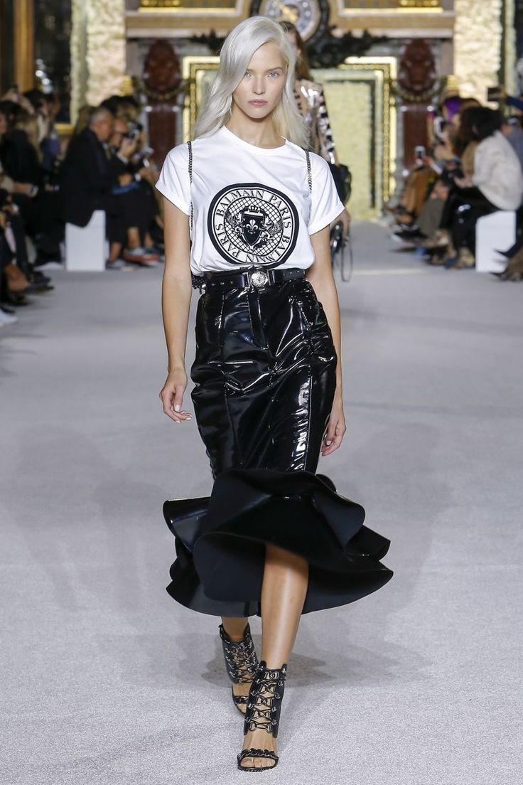 Balmain Spring/Summer 2018 Ready To Wear | British Vogue