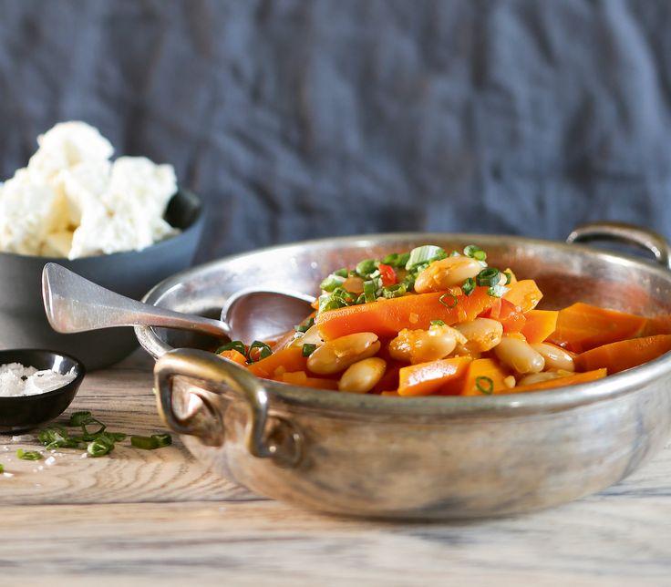 Ob klein oder gross, für dieses Gericht kann man die verschiedensten Bohnensorten verwenden.