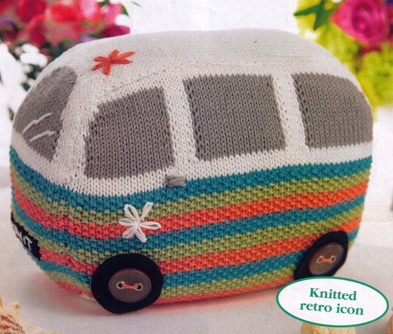 VINTaGE ThE VEE DuB Vw ReTro CaMper DOoR SToP CUSHIoN RetrO StYle 4 YoUr HoMe...