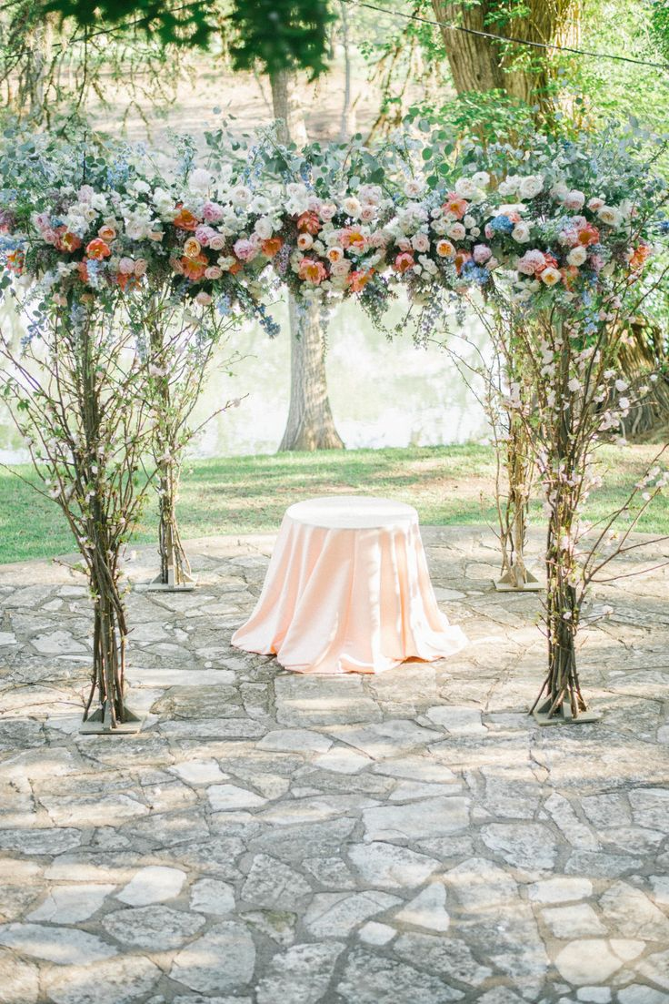 simple outdoor wedding ideas for summer%0A Elegant   Colorful Outdoor Camp Waldemar Texas Wedding