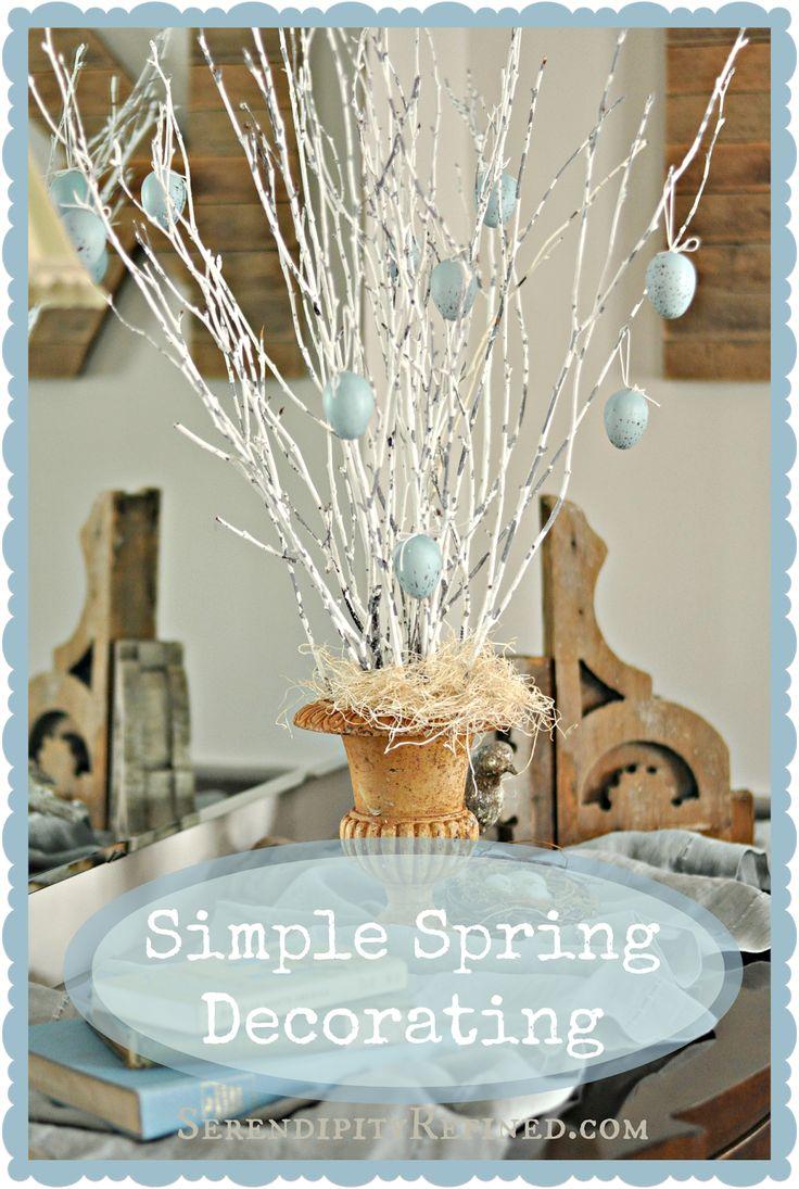 Diy Spring Decorating Ideas diy spring decorations - creditrestore