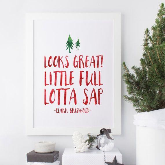 Looks Great Little full Lotta Sap  Clark by SnowAndCompany on Etsy