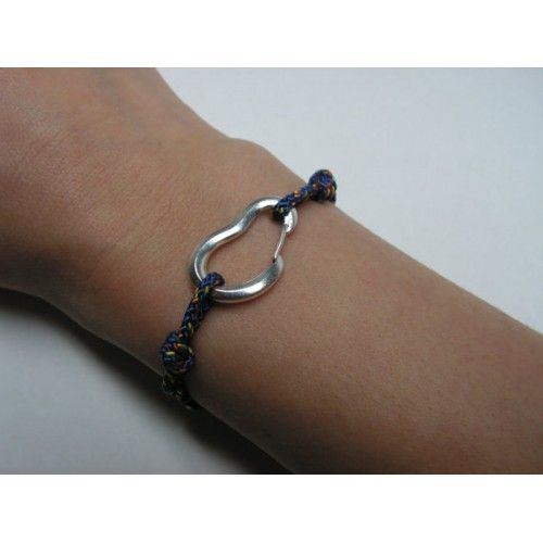 Climbing Carabiner Bracelet. Functional carabiner, like the real one!
