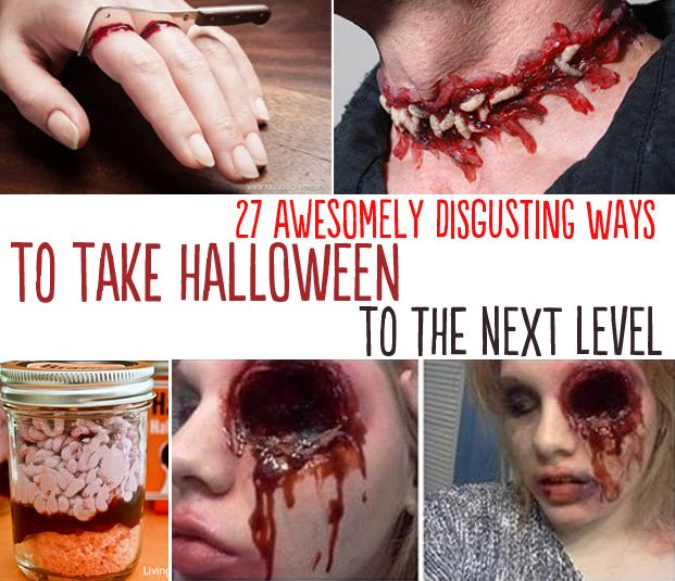 27 Disgustingly Awesome Ways To Take Halloween To The Next Level