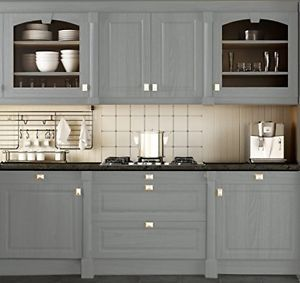 Cabinet Paint Finish Kit Refacing Wood Laminate Door Kitchen Bathroom Gray Slate