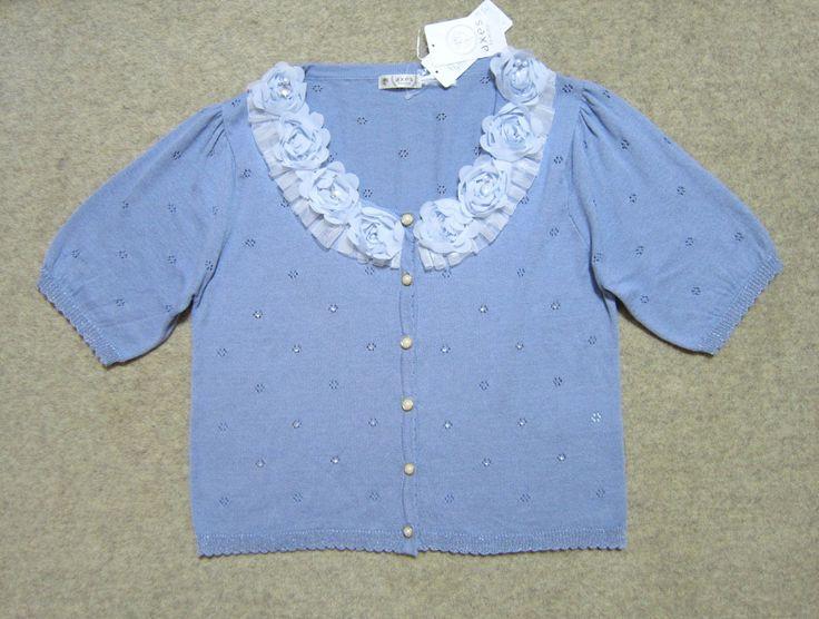 2014年春夏物の アクシーズファムのブルーのカーディガンです 投稿者のfacebook https://www.facebook.com/yasuko.takahashi.969   #アクシーズファム #カーディガン #レディースファッション