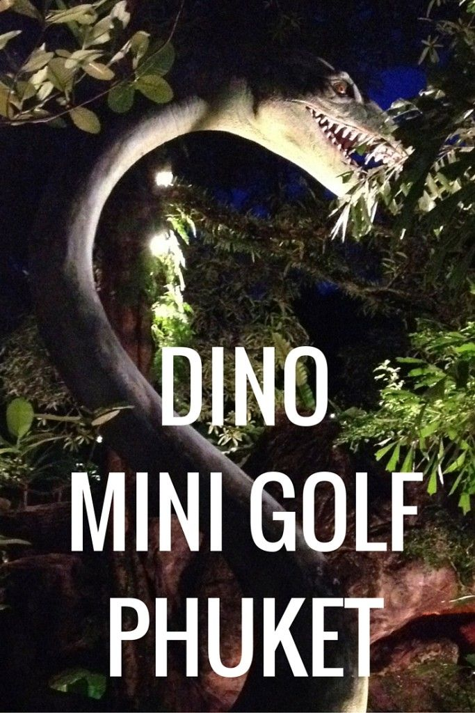 Dino Mini Golf, in one of the most popular areas of Phuket, is one of the quirkiest mini golf courses I've ever seen! Check out my vlog of our time there.