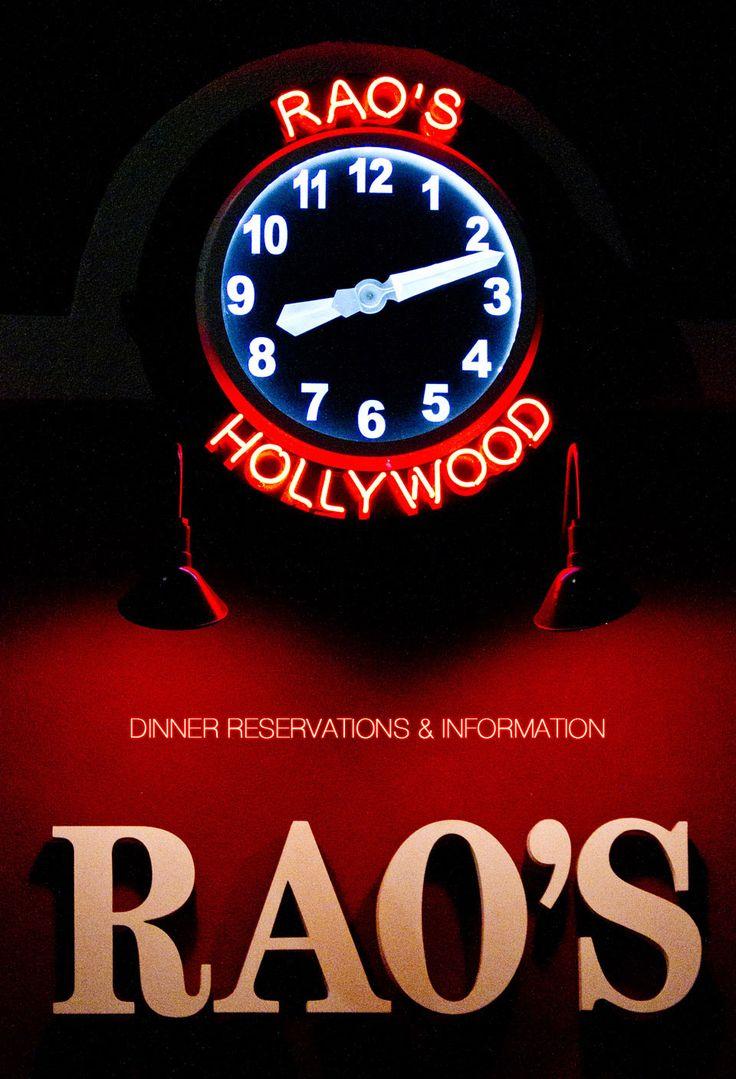 Rao's Hollywood Famous New York Italian Restaurant