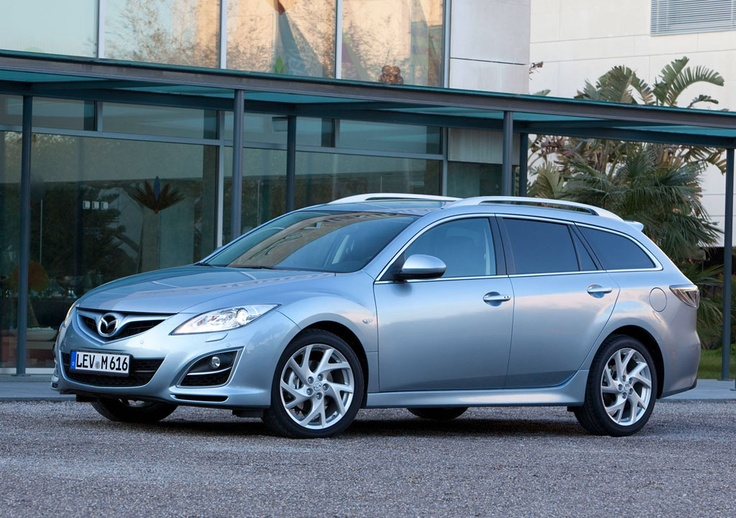 Facelift Mazda6 Sport Estate Sport, 2010