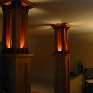 1000 images about columns on pinterest for Craftsman columns