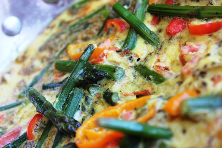 Frittata aux légumes minute #recettesduqc #brunch #frittata