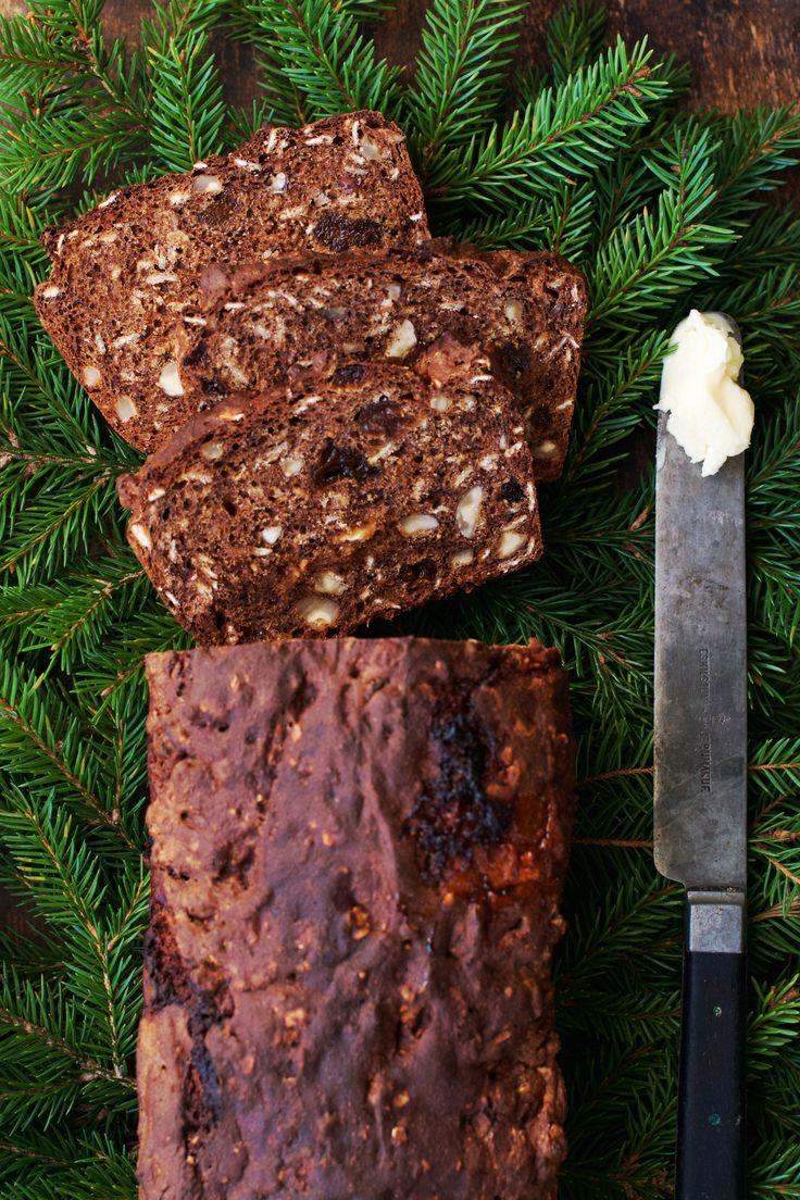 Mitt godaste julbröd recept (snabbt, enkelt, knådfritt och jäsfritt!) en glutenfri variant