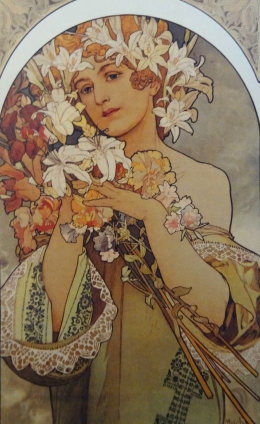 Alfons Mucha at the Gallery of Art, Prague - Image 15