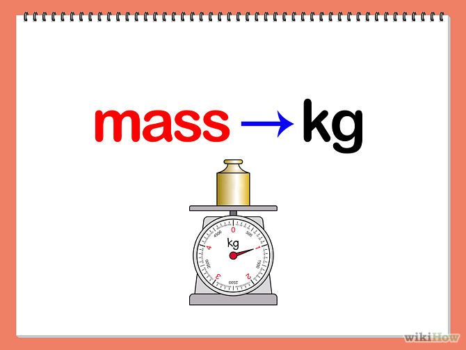 Mass: the quantity of matter that a body contains, as measured by its acceleration under a given force or by the force exerted on it by a gravitational field. This picture shows that mass in measured in Kilograms and that the object has a certain mass