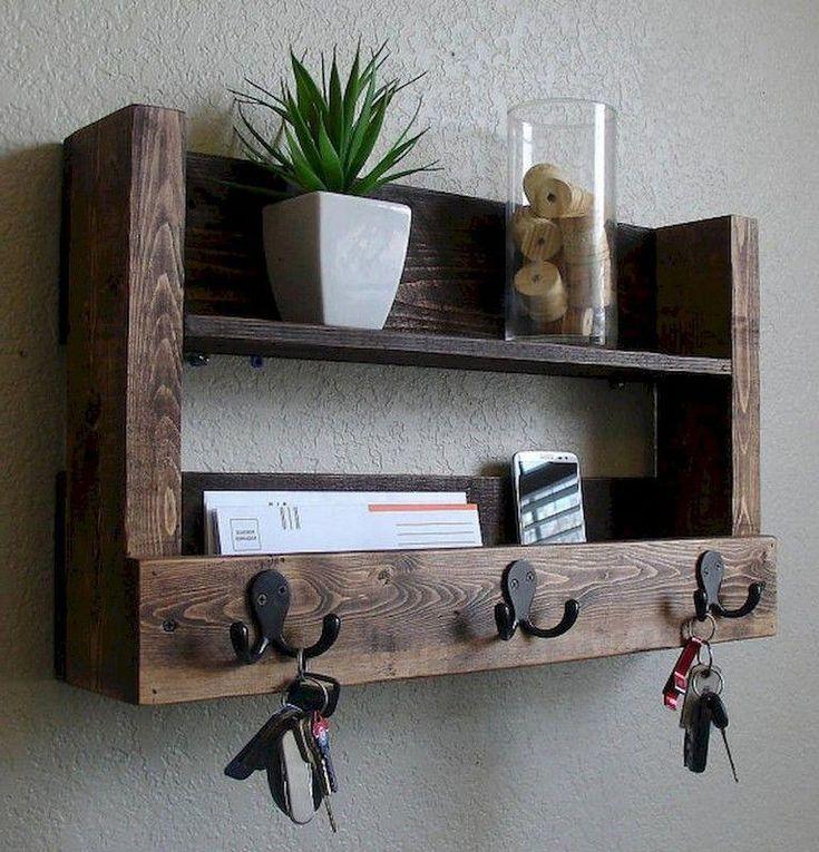 45 beautiful rustic diy key holder ideas diy keyholder