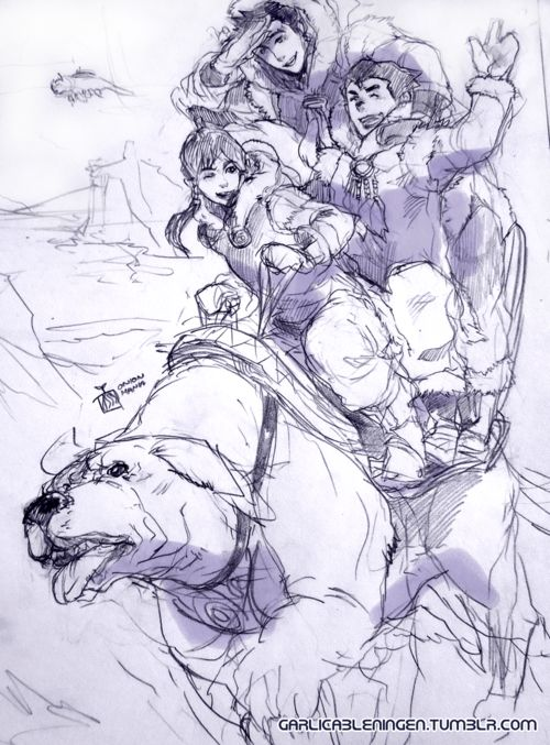 Let me just litter my pinterest with Legend of Korra fanart and such. Sigh<3