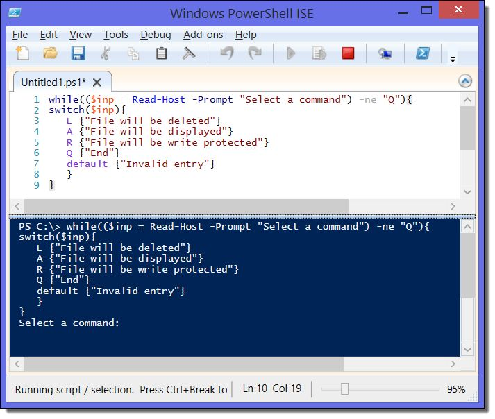 PowerShell loops: For, Foreach, While, Do-Until, Continue, Break