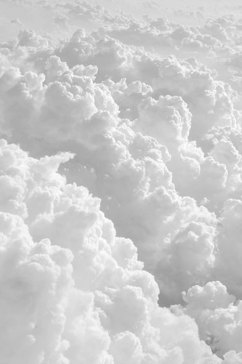 Clouds - variations of white..... This is why I'll fight anyone for the window seat on a flight. Amazing.
