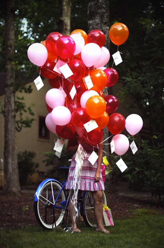 Tie invite to a balloon 51 best