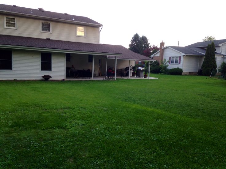 Big Empty Backyard : backyard my dream backyard backyards forward our current backyard