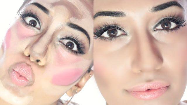 Клоунский контурный макияж является новым бьюти-трендом, и мы совсем не смеялись над великолепным результатом