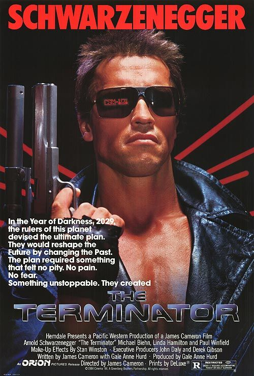 'The Terminator' was a fun movie. I still like to watch it.