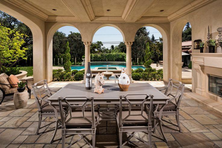 mediterranean-patio arches decor ideas tuscan california style better decorating bible blog