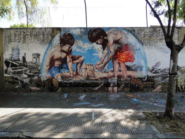 Fintan Magee x Martin Ron New Collaboration - Buenos Aires, Argentina